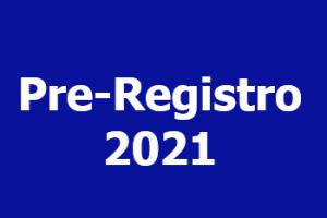Realiza tú Pre-Registro 2021 en línea
